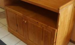 Baby changing and dressing unit for sale...solid pine