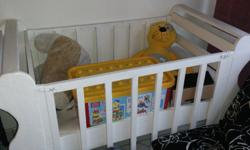 Baby Cot for sale excludes things inside...