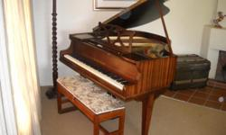 Beskrywing This beautiful baby Grand is a Collard &
