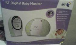 BT baby monitor in excellent condition, comes in box