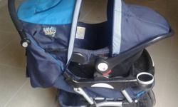 In good condition, pram & matching car seat. R700