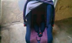 Beskrywing baby seat with seat-belts