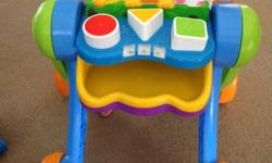 An infant walker that steady's baby's first steps and