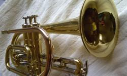 Like NEW Bach student Cornet model with cornet