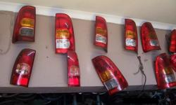 Wide range of all bakkie taillights for sale Contact