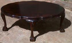 Beskrywing BALL & CLAW COFFEE TABLE FOR SALE, MORE INFO