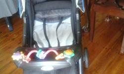 Bambino Civic Pram with brand new spare seat cover for
