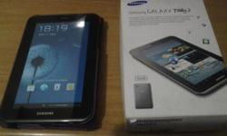 GENUINE GALAXY TAB 2 7INCH WIFI AND CELLULAR WITH BOX