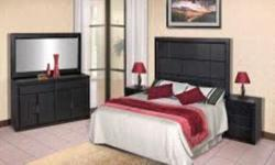 Get a solid Ebony Pine Bedroom set for only R5750 ...