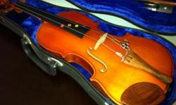 Barnes and Mullins violin from London. Small size,