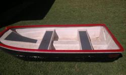 Two man Bass boat for sale 2.2m x 1.1m.Very versatile