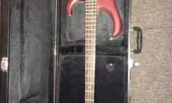 Ibanez BTB550 4 string bass with case and fender rumble