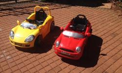 I have 2 battery operated Ride in cars for sale. Comes
