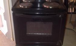 Bauer Stove 4 plate, oven with oven drawer. In working