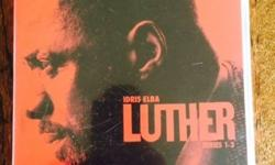 Crime TV Series' LUTHER : Series 1-3 complete (6 discs)