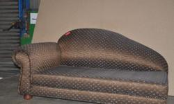 Beautiful Chaise Up for Grabs Looks as Good as New ONLY