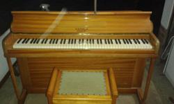 Piano in excellent condition for sale. It is a Kemble
