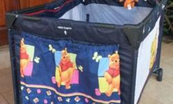 I have a beautiful Winnie the Pooh Disney campcot for