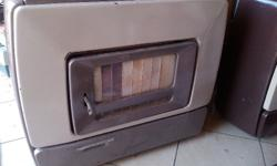 Beckers Anthracite heater for sale, fair condition,