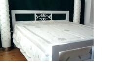 Queen Size Metal Bed - Built to take the punch of heavy