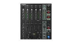 Professional 5-channel ultra-low noise DJ mixer with