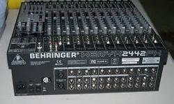 24 Channel Behringer SX2442 mixer. Brand new with
