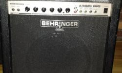 60 Watt Bass Amp Used in Studio recordings Great For