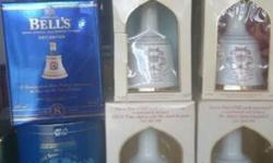Royal Bells whisky collection