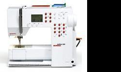 Beskrywing Bernina has superb tension control and