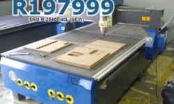 EasyRoute 2000�4000 4kW CNC Wood Router, 380V, Water
