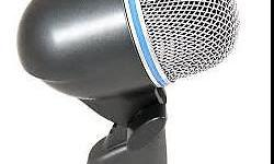 The Shure Beta 52A is a precision-engineered dynamic