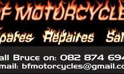 BF MOTORCYCLES --- Has moved to new premises in TOWN!