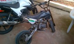 Big Boy 125 Pit Bike with track tires selling for R3000