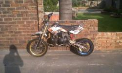Beskrywing Soort: Sports Big Boy CR140 Pit Bike For