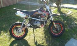 Selling my Big Boy pit bike. The bike is in very good