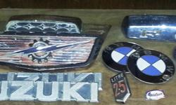 Big Selection of Vintage Car Badges -- Check out all