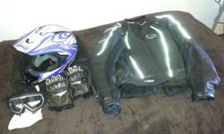 Hi, I sold my bike and the gear must to go to. Leather