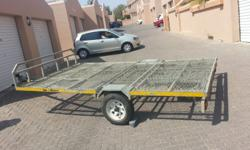 PERFECT GOOD CONDITION TRAILER, TO CARRY 5 SUPERBIKES,