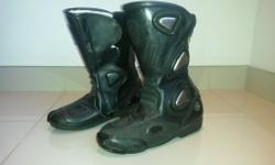 Biker boots Still brand new, barely used (check