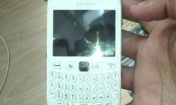 Black Berry 9320 White for sale R1,200 neg the phone is