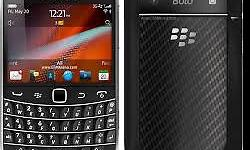black berry 9900bold with charger and car charger well