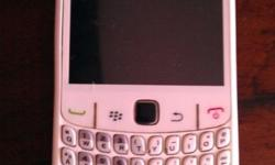 Black Berry Curve white with USB cable good condition