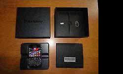 Excellent condition blackberry 9900 bold with box and