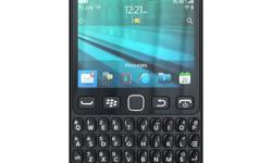 I have a black Blackberry 9720 - dual touchscreen. Had