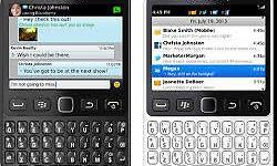 Blackberry 9720 touch & type neat ,open to all