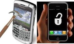 We offer a range of services for Blackberry and Apple