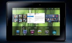 A professional-grade tablet, the BlackBerry PlayBook