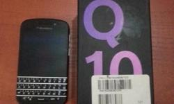 BlackBerry Q10 SmartPhone Contract Phone with Nashua