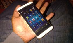 White Blackberry Z10 For Sale 3 months Old Big Luck At