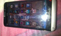 Blackberry Z30 in box with access. Scratchmark on
